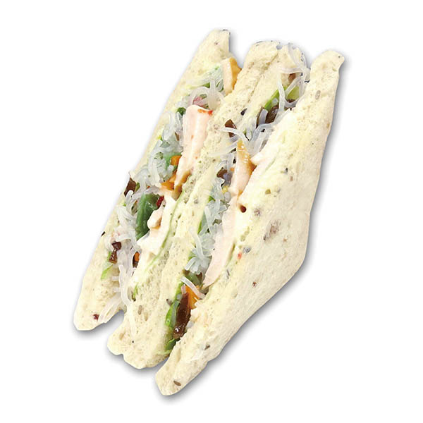 暑い季節に食べやすい春雨サラダ&チキンマリネ。399kcal